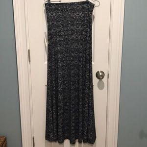 LuLaRoe Maxi Skirt (Small)